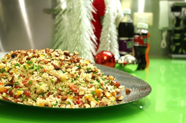arroz, rice, arroz navideño