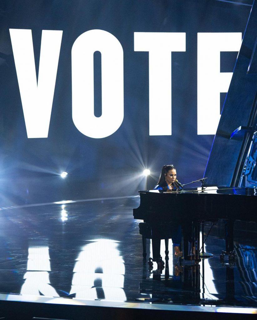 Demi Lovato en los Billboard Music Awards