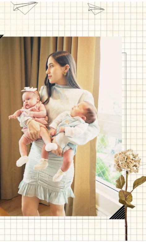 Embarazada de mellizos en pandemia: el journey de Marcelle de Moya