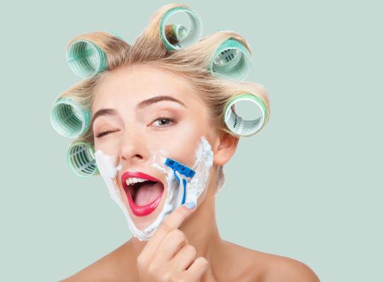 Beneficios de afeitarse el rostro