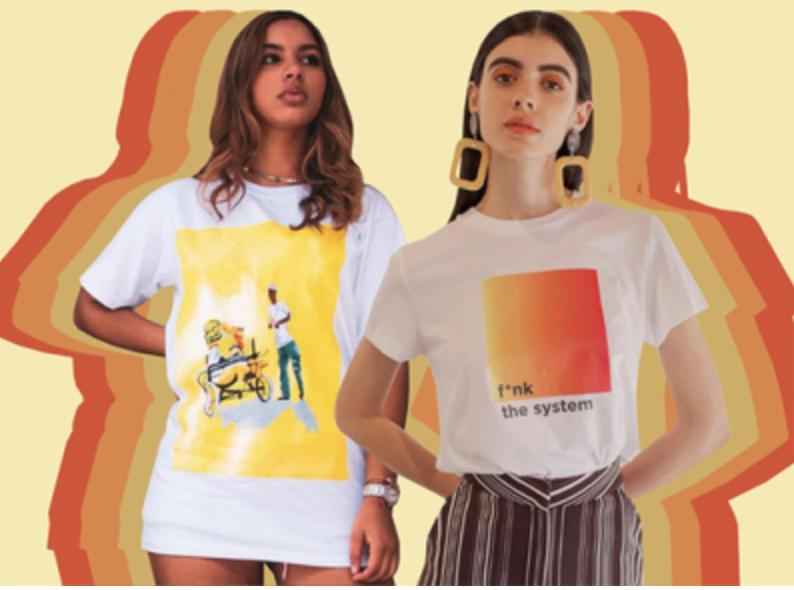 Graphic tees: una tendencia cómoda y con estilo