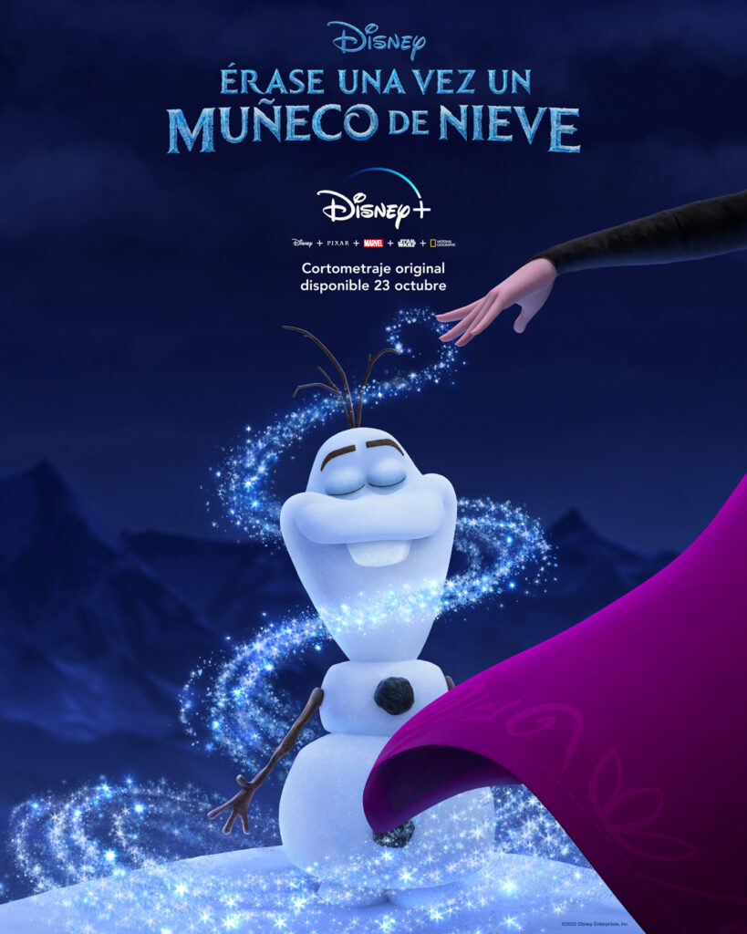 ana, anna, disney, disney plus, disney+, elsa, frozen, latam, latin, latino, Latinoamérica, man, marvel, muñeco, muñeco de nieve, nieve, olaf, plus, snow, snowman, vision, wanda, wandavision