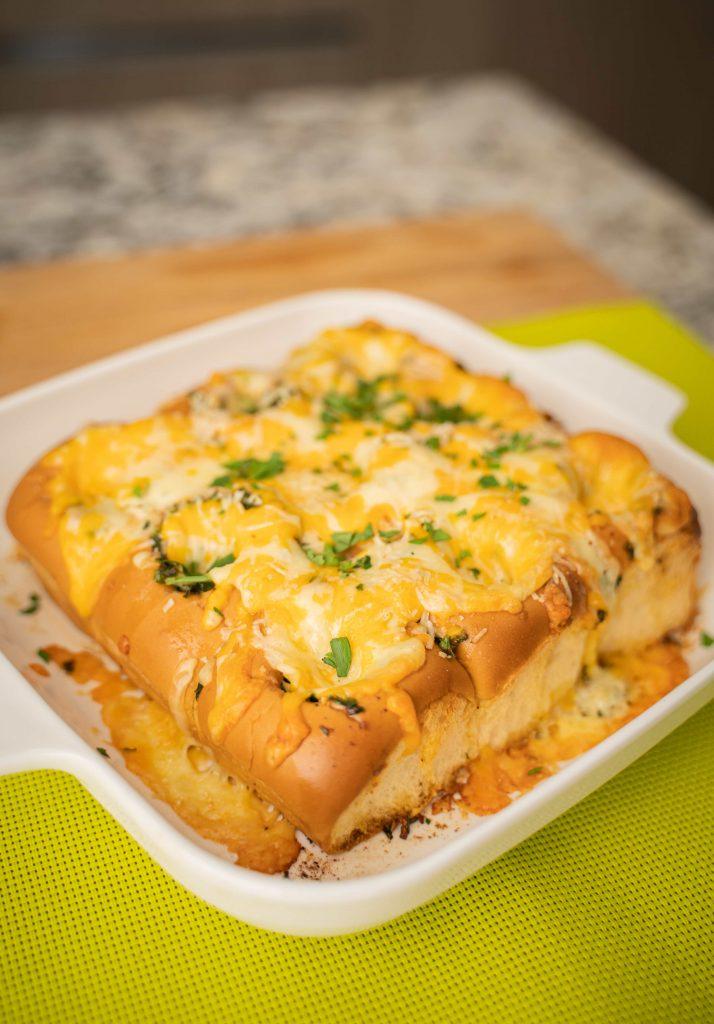 pan con ajo y queso
