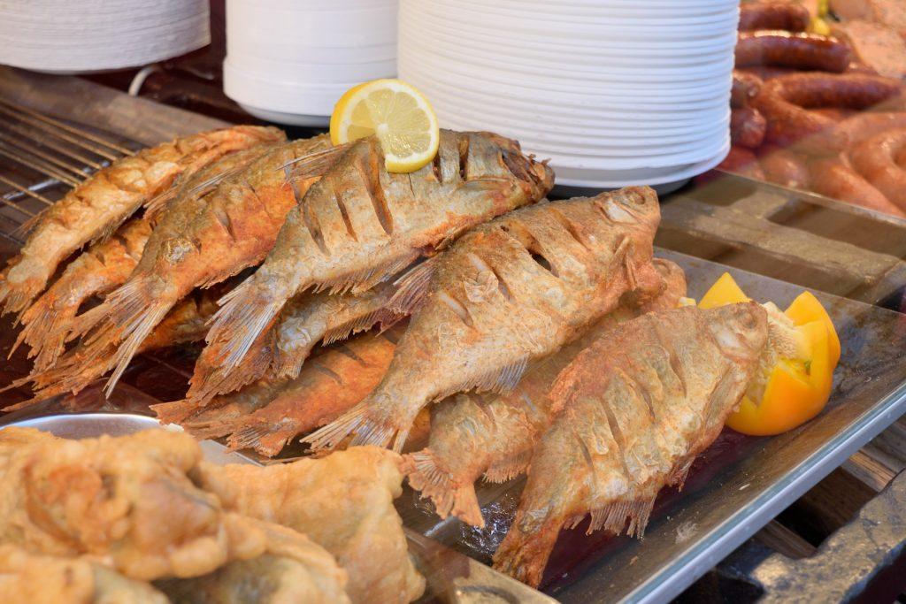 pescado frito en playas dominicanas