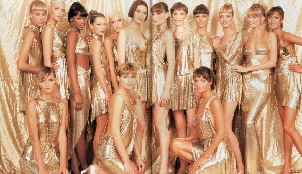 Gianni Versace, oroton dress