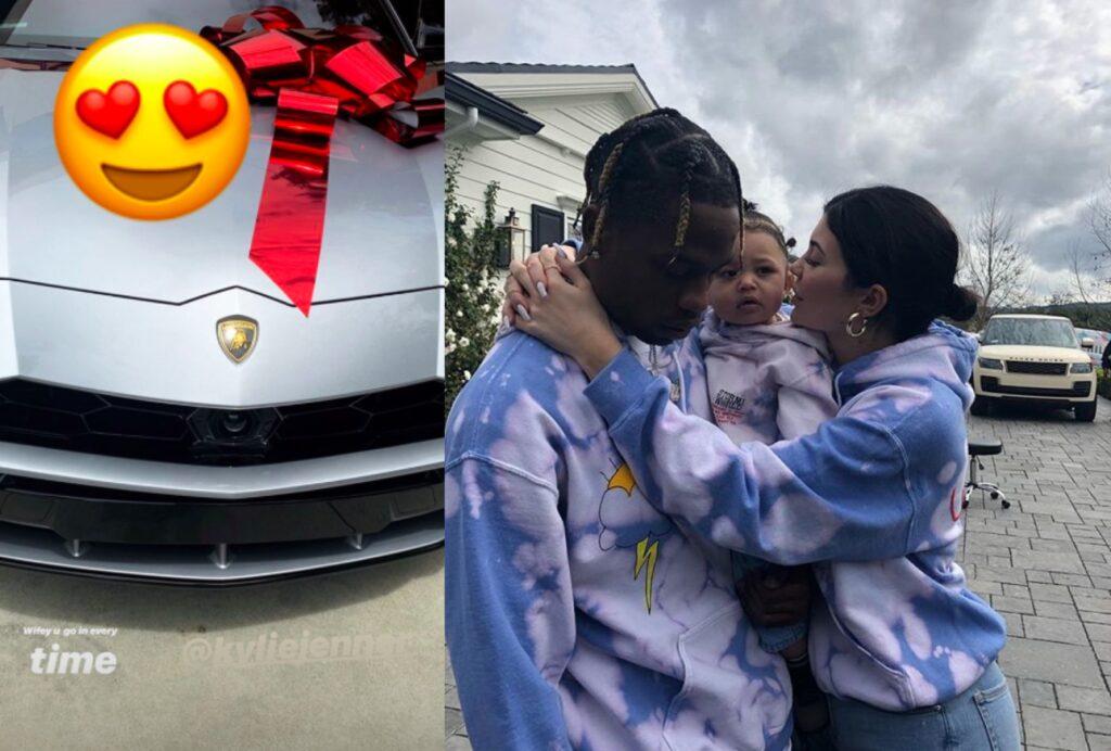 regalos de lujo para papá, Lamborghini Urus, Travis Scott